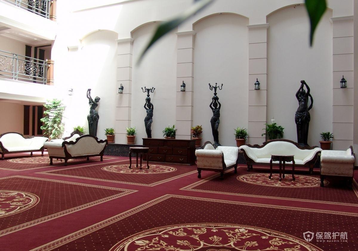 宾馆用地毯还是木地板?宾馆地毯怎么铺?