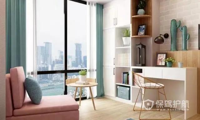 小戶型榻榻米+書房裝修設計,還可以作為客房,讓家休閑娛樂兩不誤