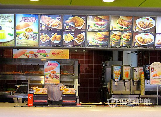 7平米现代风格快餐店装修实景图