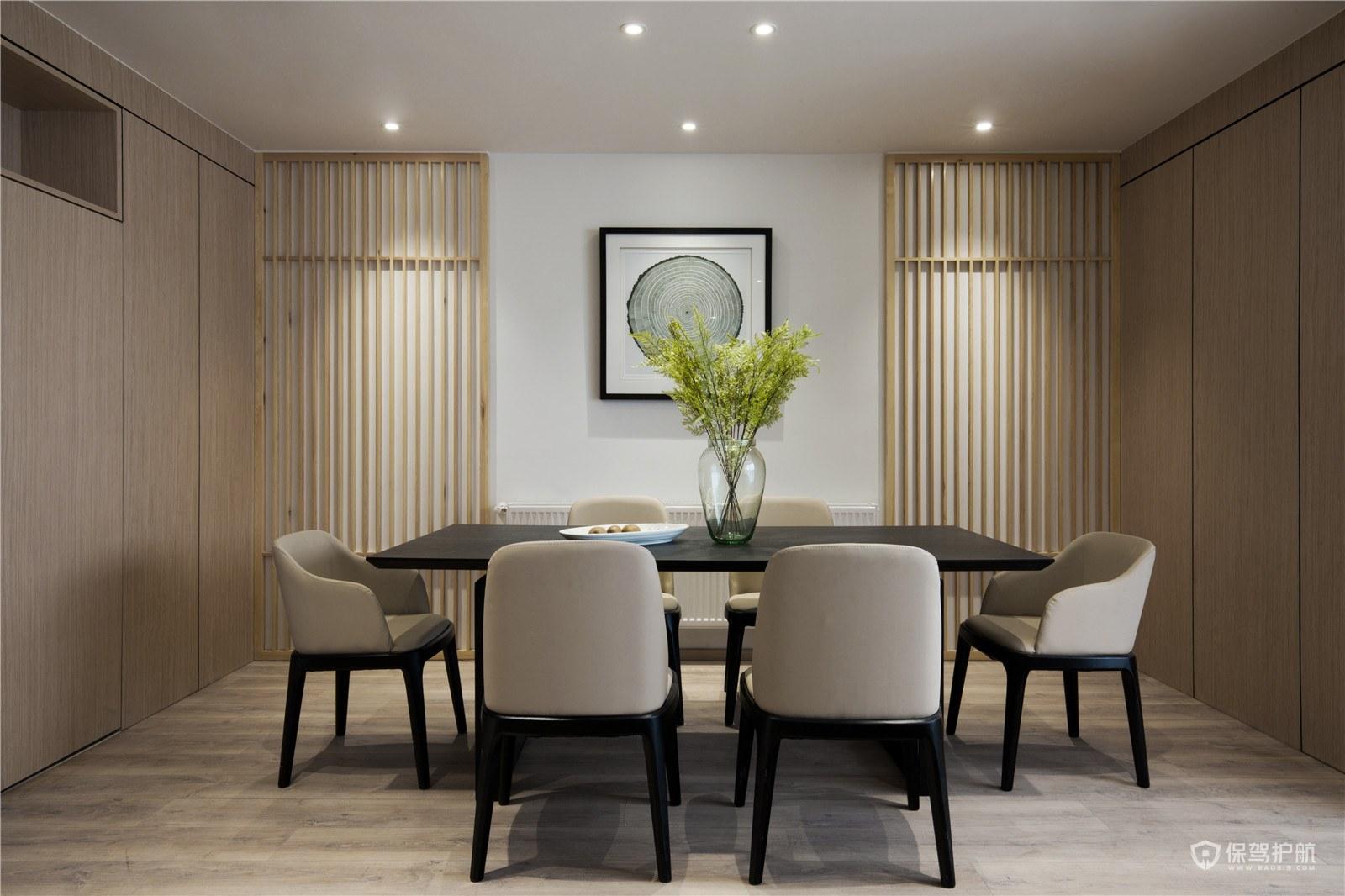 170平新中式三居室餐厅装修效果图