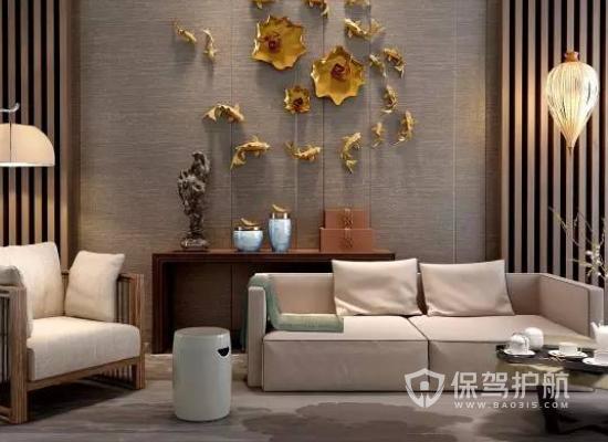 新中式客厅装修攻略 13平米新中式客厅装修效果图