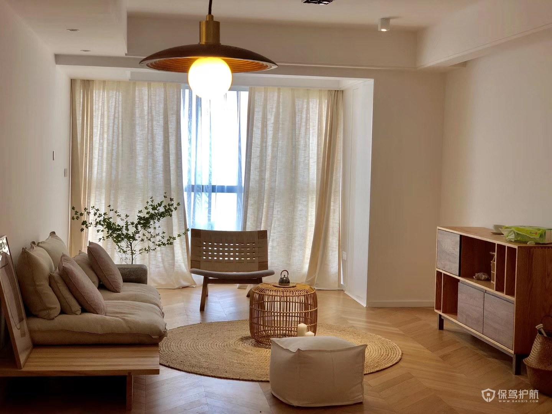 簡約日式二居室客廳裝修效果圖
