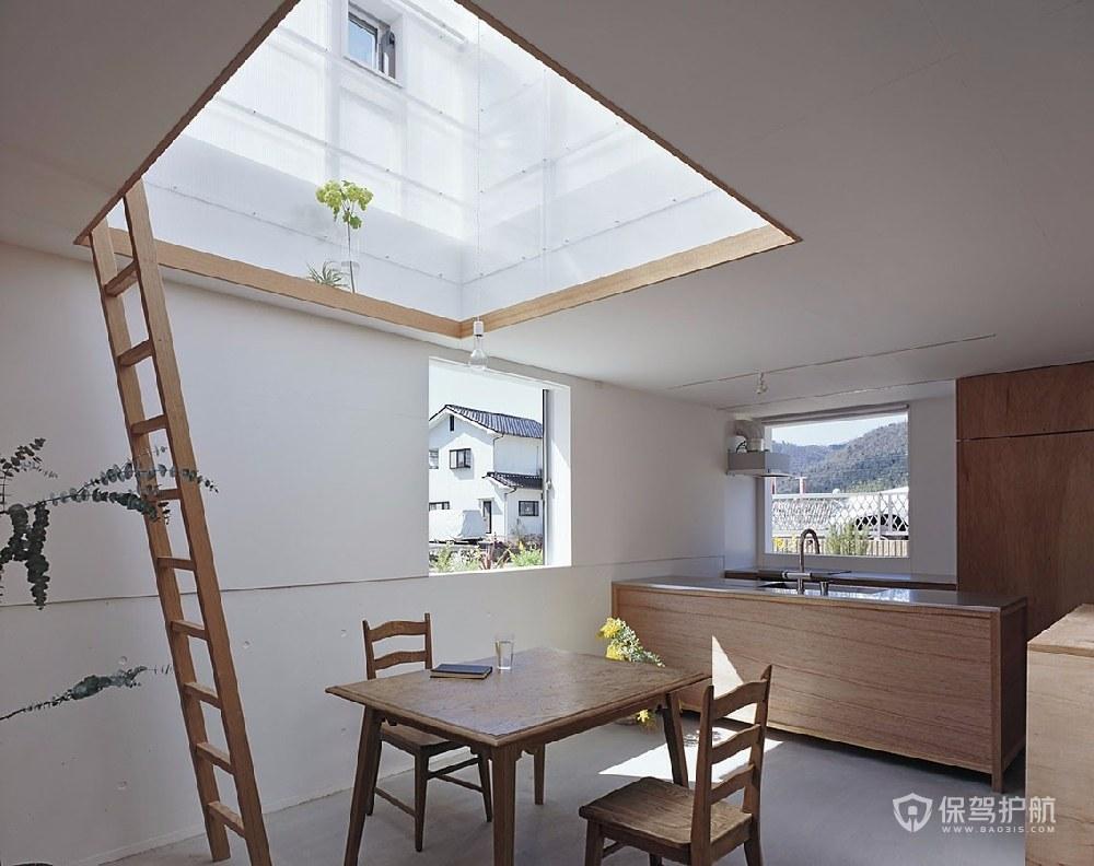 日式简约风公寓餐厅装修效果图