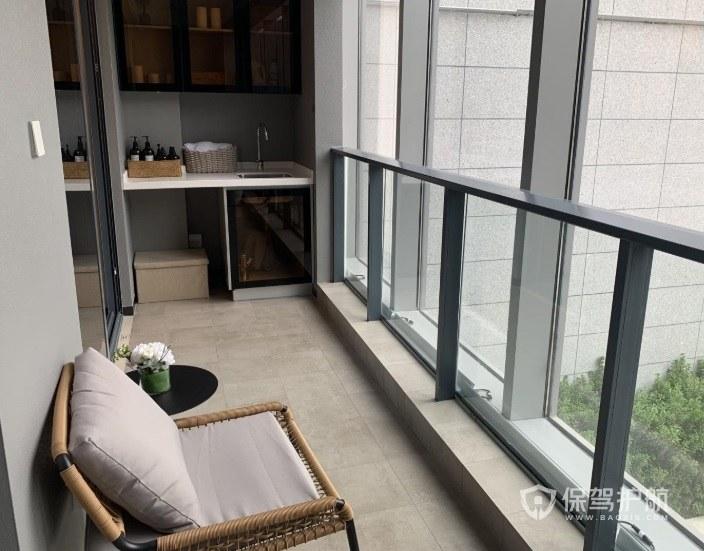 客廳和次臥陽臺連通如何裝修? 陽臺與客廳連通如何防風?