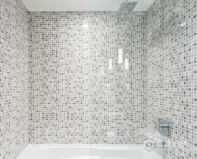 小戶型衛生間馬賽克瓷磚裝修效果圖