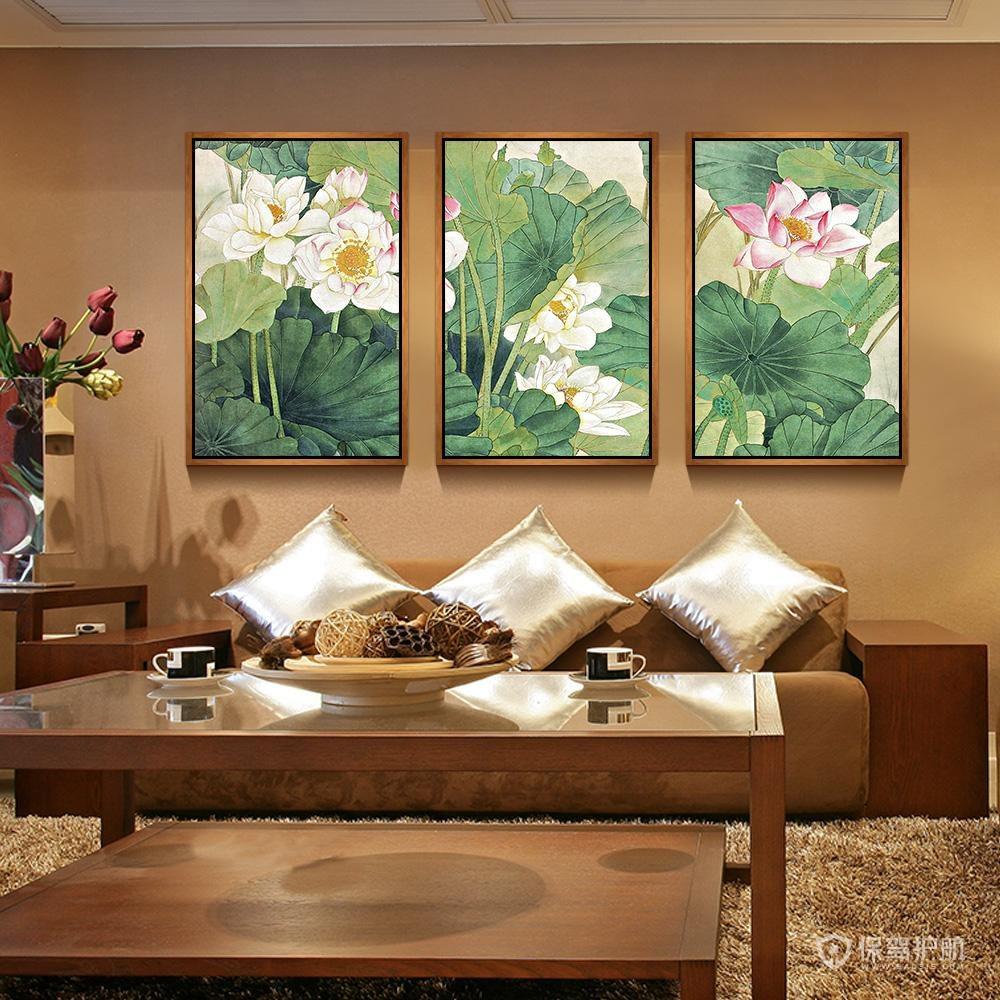 客廳掛什么字畫風水好?客廳掛畫有什么風水講究?