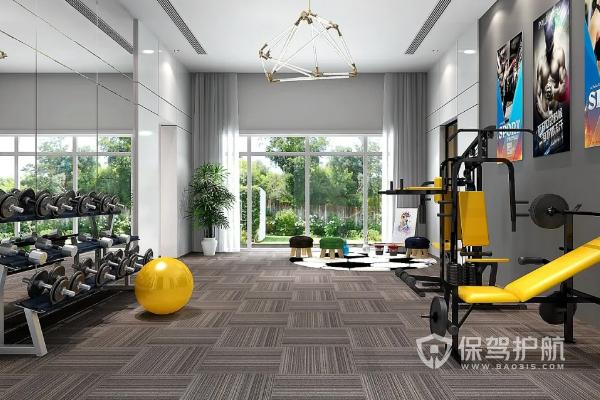 別墅健身房怎么裝修?別墅健身房裝修標準