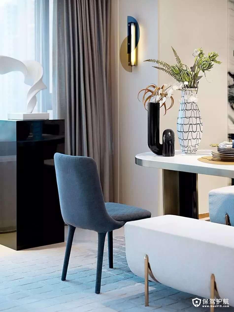 星城國際現代簡約風格四居室裝修效果圖