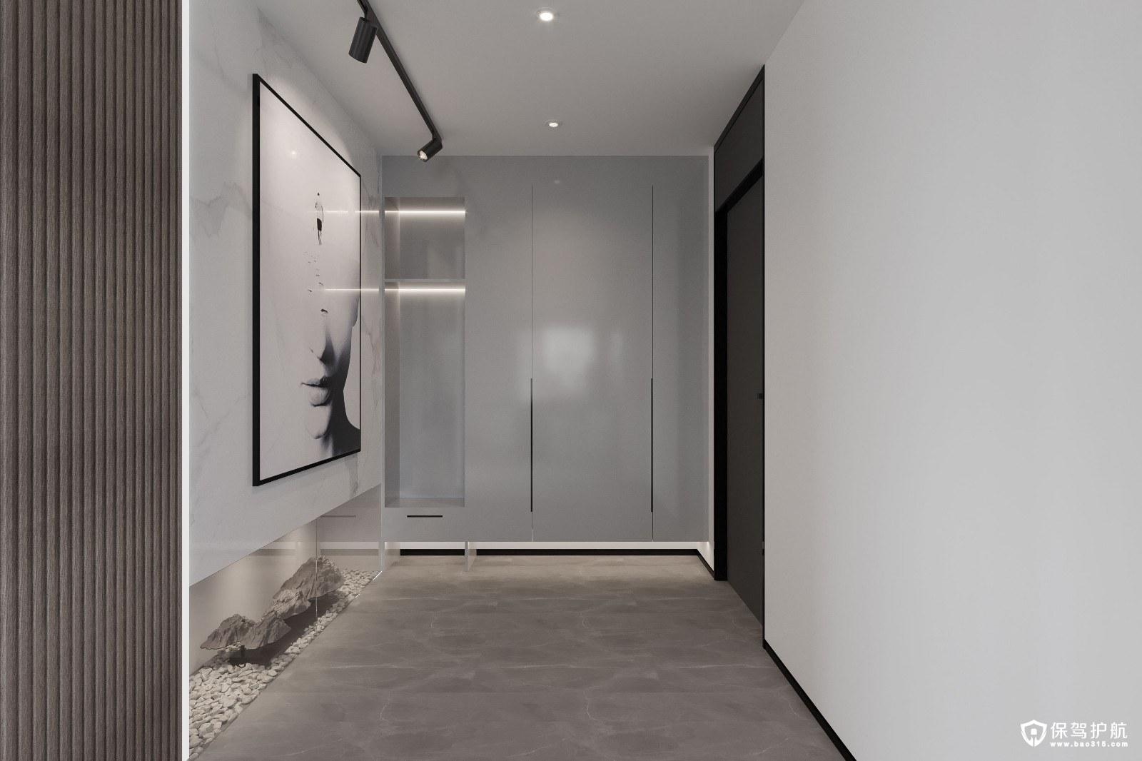金悅城現代簡約風格四居室裝修效果圖