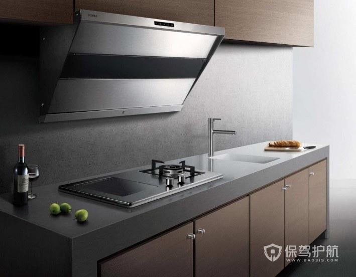 廚房灶臺裝修什么顏色好? 廚房灶臺設計詳細尺寸