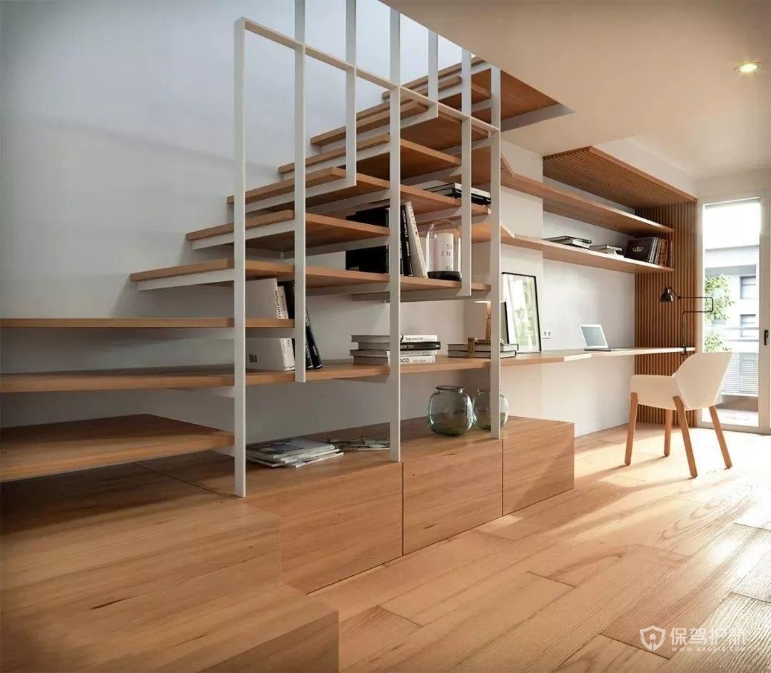 閣樓樓梯裝修效果圖-保駕護航裝修網
