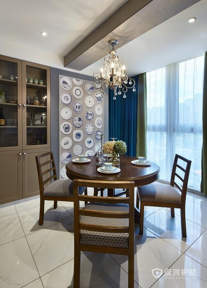 150平美式四居室餐廳裝修效果圖