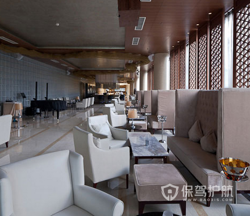 121平米新中式風格酒吧裝修實景圖