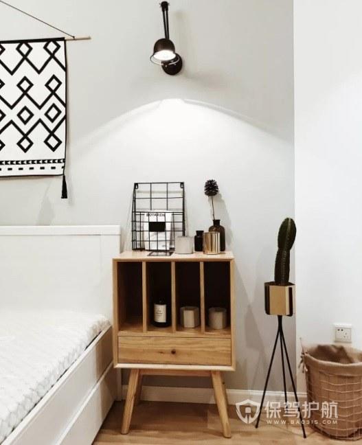公寓簡約風臥室床頭柜裝修效果圖