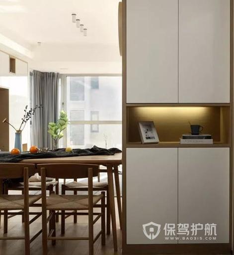 兩室兩廳一廚日式裝修 93平日式原木兩室兩廳實景圖