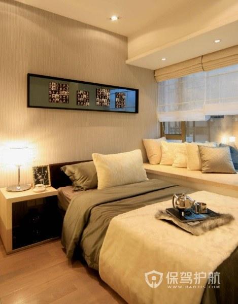 卧室实木长方形床头柜亚搏体育平台app效果图