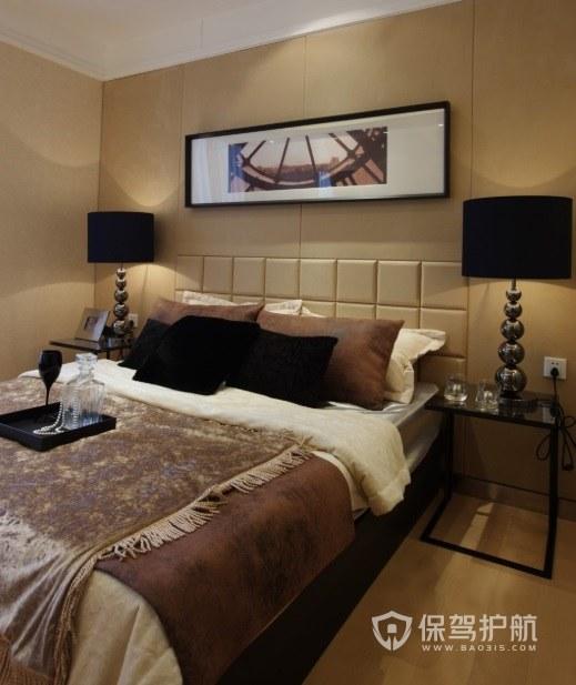 欧式卧室铁艺床头柜亚搏体育平台app效果图