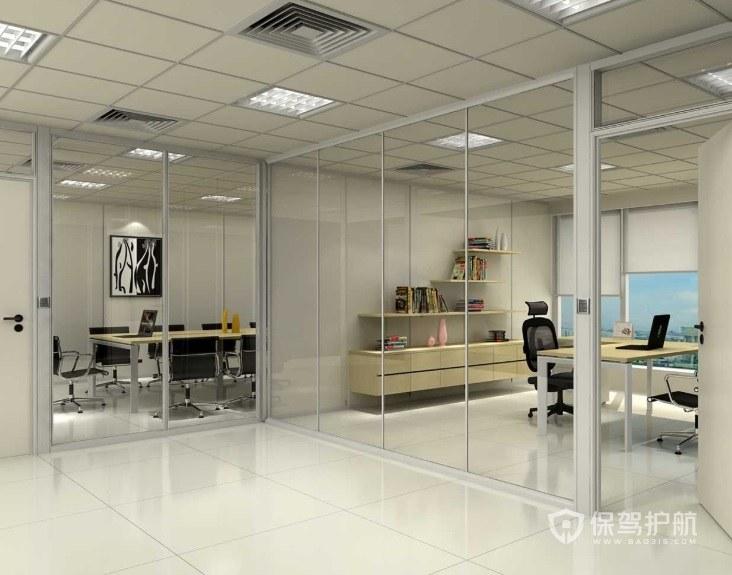 办公室成品玻璃如何隔断? 办公室成品玻璃隔断效果图