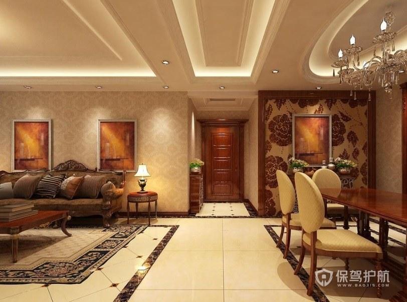 客廳拼花地板需要多少錢? 客廳拼花地板效果圖