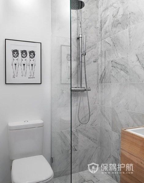 小戶型衛生間大理石磚裝修效果圖