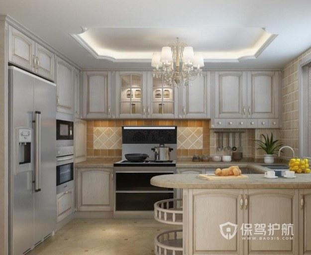 不規則廚房櫥如何裝修? 不規則廚房櫥柜效果圖