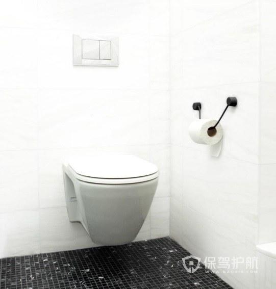 公寓衛生間掛墻式馬桶裝修效果圖