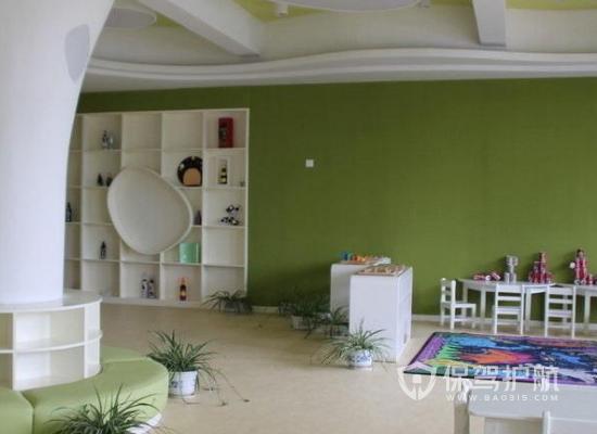 48平米簡約風格幼兒園裝修實景圖
