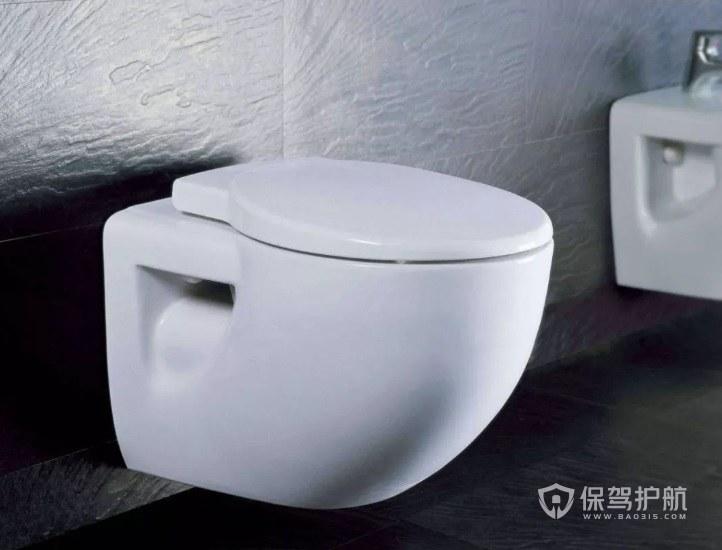 衛生間高級掛墻式馬桶裝修效果圖