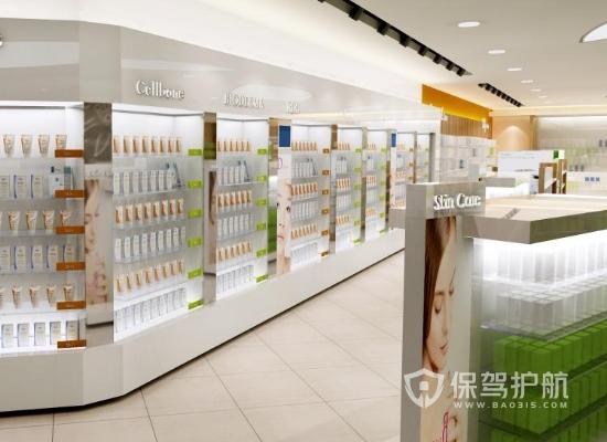 130平米现代风格超市装修效果图