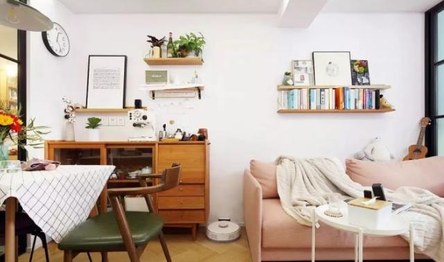 北歐風單身公寓,房子雖小,五臟俱全,小并精致,簡潔清雅既視感