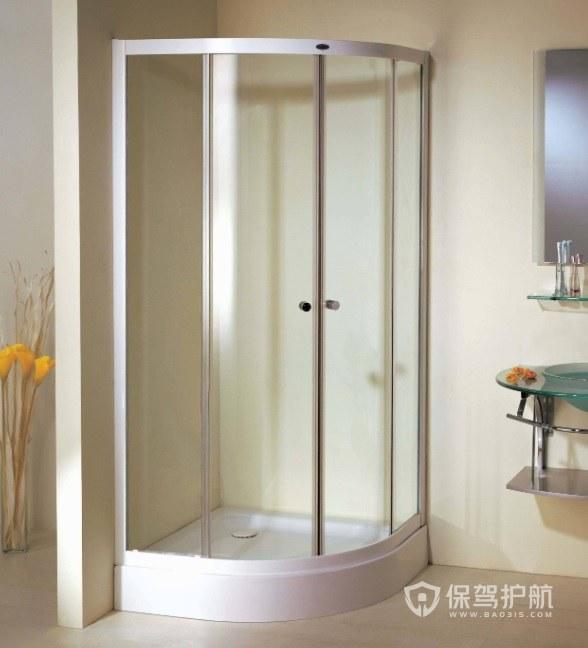 简约温馨卫生间淋浴房安装效果图
