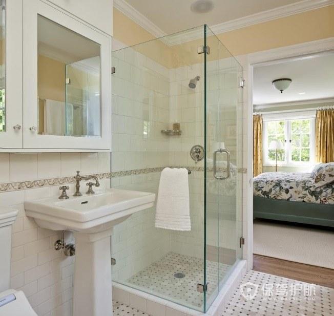主卧卫生间小淋浴房安装效果图