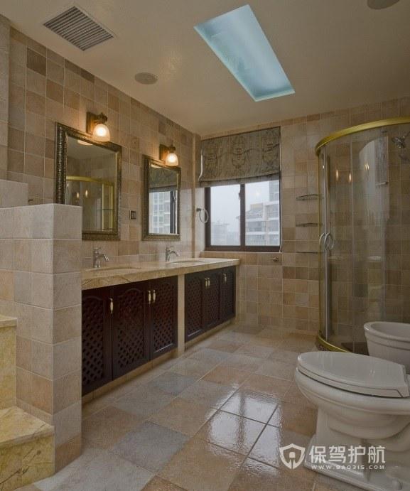 超大户型卫生间淋浴房安装效果图