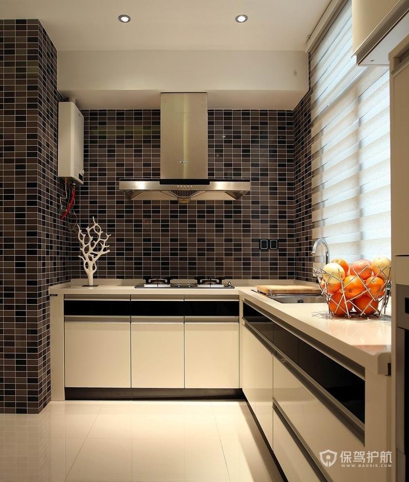 简约二居室厨房瓷砖亚搏体育平台app效果图