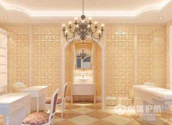 23平米欧式风格美容院装修实景图