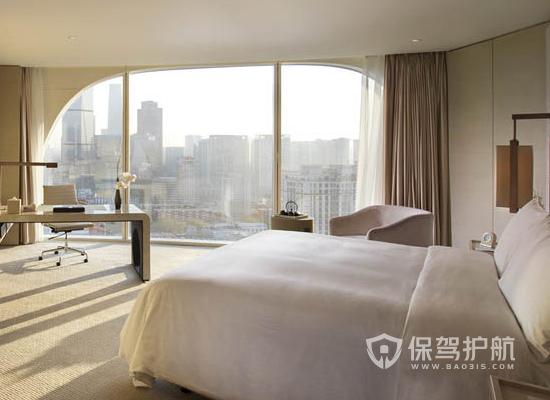 28平米现代风格酒店装修实景图
