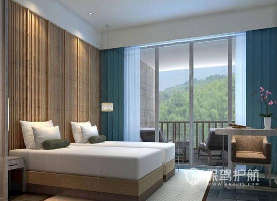 21平米现代风格酒店装修效果图