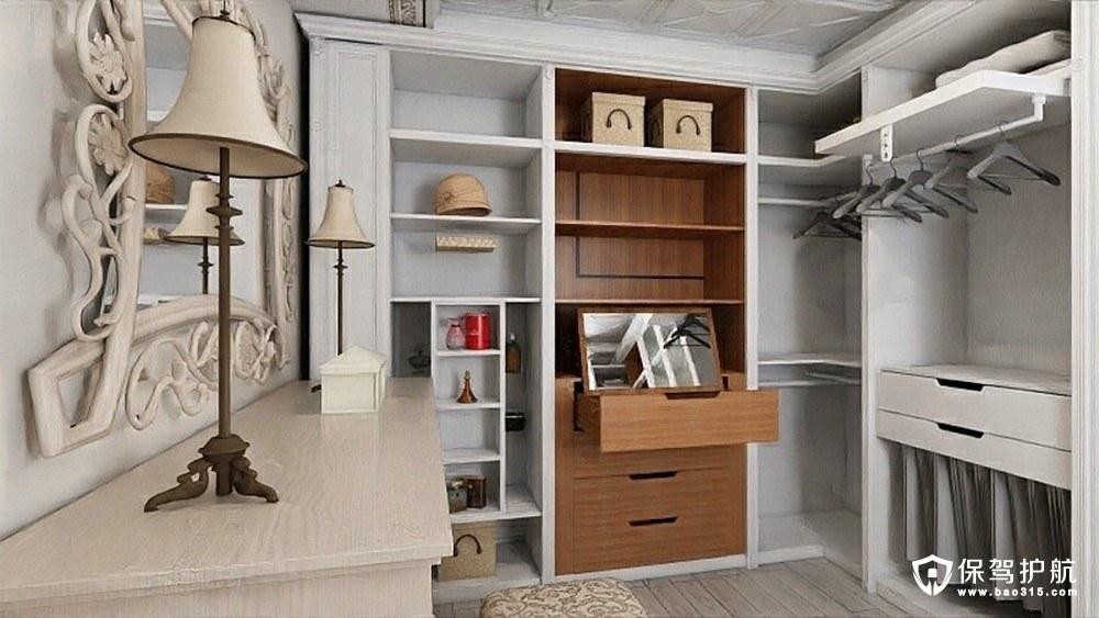阳光城新界欧式风格三居室装修效果图