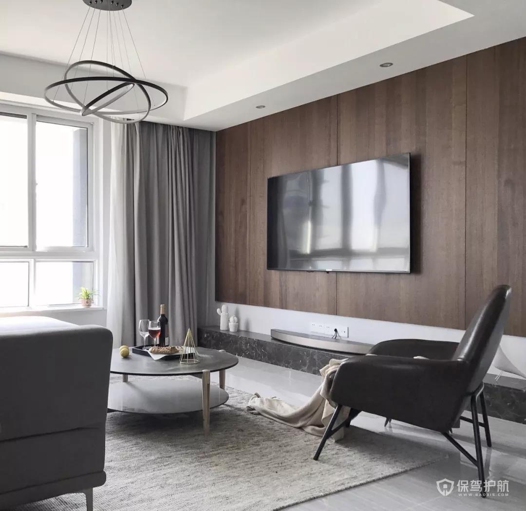 电视墙别乱装,学学这9种简约耐看的电视墙设计
