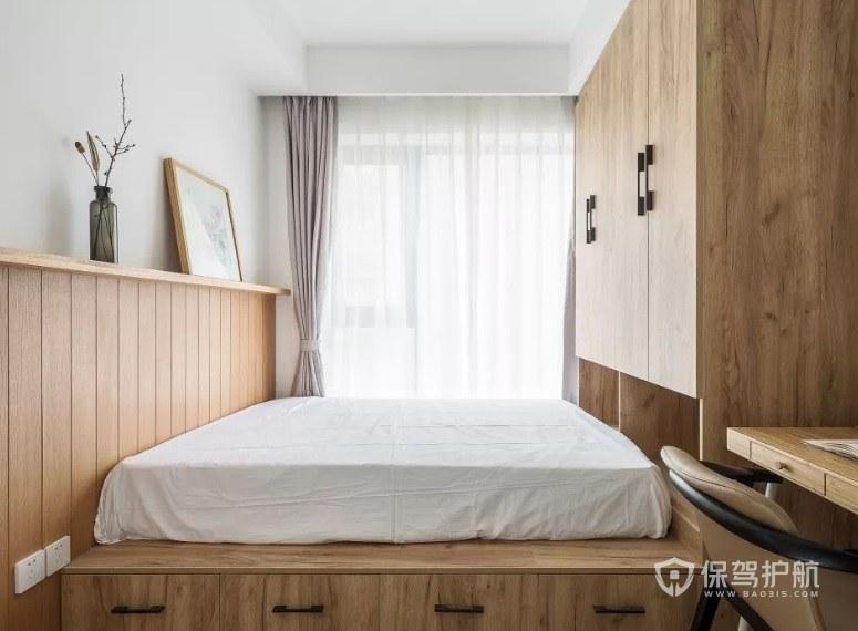 62平两居室次室榻榻米装修效果图