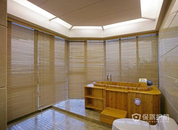 別墅日式混搭風衛生間裝修效果圖