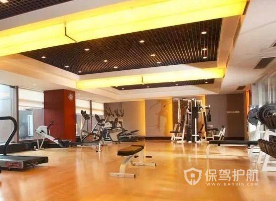 95平米現代風格健身房裝修實景圖