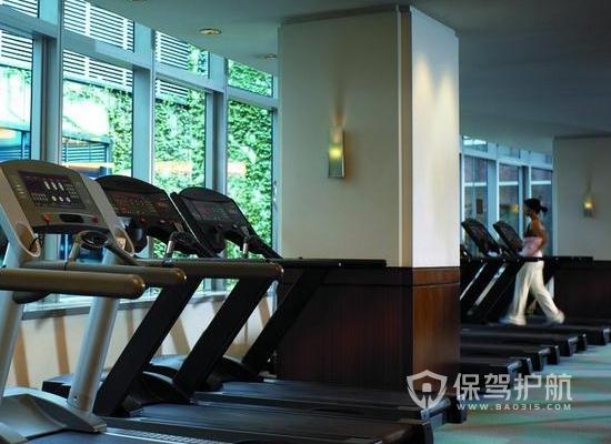 78平米簡約風格健身房裝修實景圖