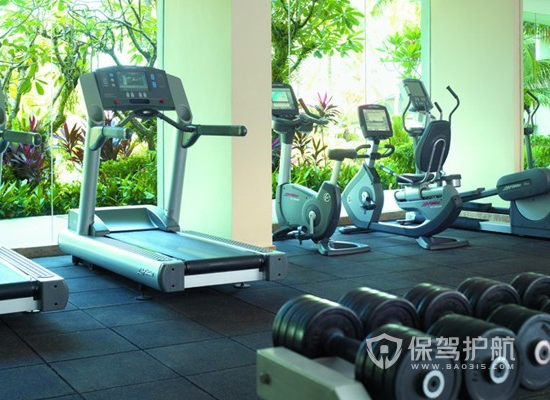 115平米簡約風格健身房裝修實景圖