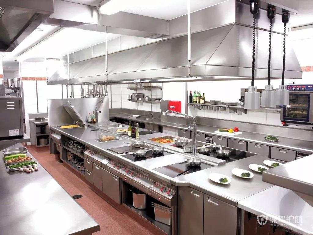 飯店廚房裝修-保駕護航裝修網