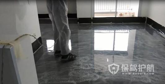 环氧地坪地板装修效果图-保驾护航装修网