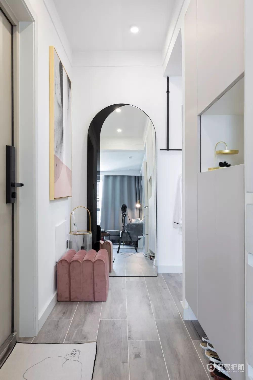 极简风格公寓玄关装修效果图
