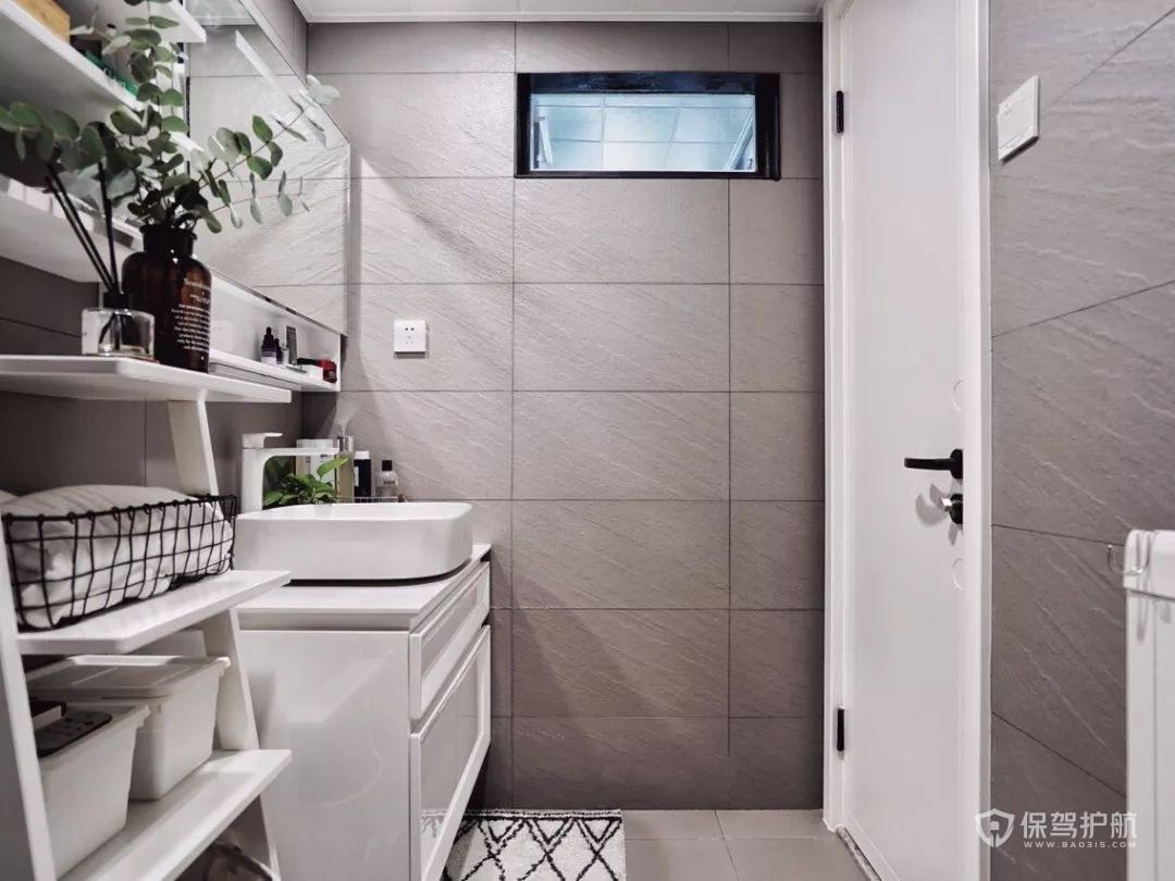 简约风格小户型卫生间装修效果图