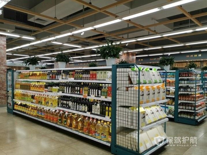 小型超市货架如何合理摆放?小型超市货架摆放图