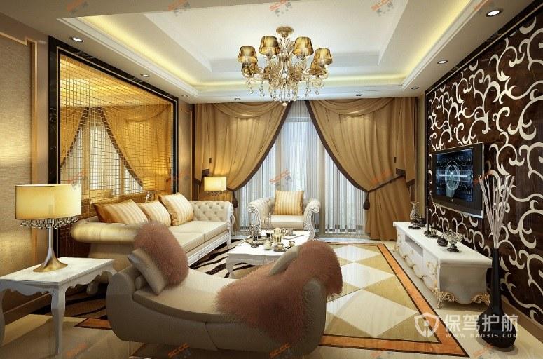 客厅如何装修奢华欧式风? 奢华欧式客厅效果图